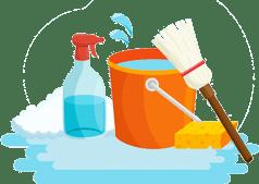 Поддерживающая уборка помещений